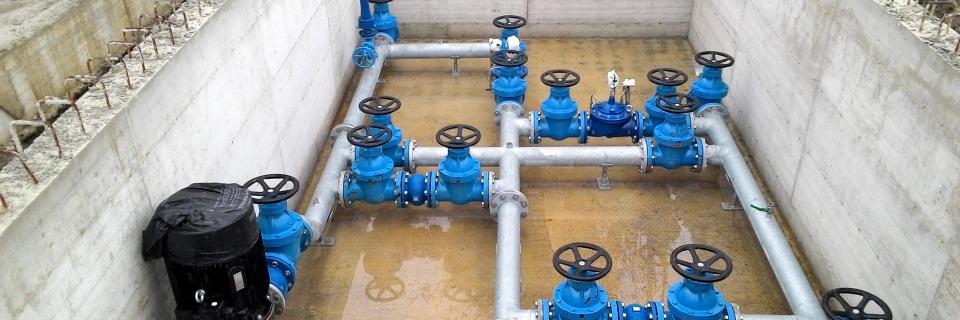 Realizzazione e manutenzione di acquedotti e fognature